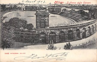 Ansichtkaart Milano L'Arena delle Carceri 1902 Italië Italia HC1837