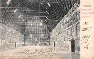 Ansichtkaart Padova Interno del Palazza della Ragione 1903 Italië Italia HC1838