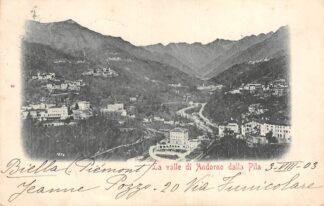 Ansichtkaart La valle di Andorno dalla Pila 1903 Italië Italia HC1840