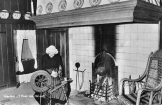 Ansichtkaart Zweelo 't Hoes van Hol-An Koffie- en Pannekoek boerderij Oud-Aalden 11 1967 HC1845