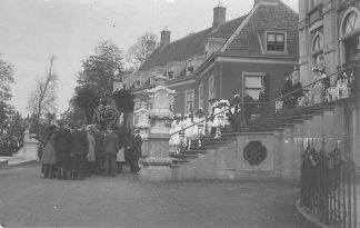 Ansichtkaart 's-Gravenhage Paleis Huis ten Bosch Fotokaart Koningin Wilhelmina Prinses Juliana Koningshuis Den Haag HC1851