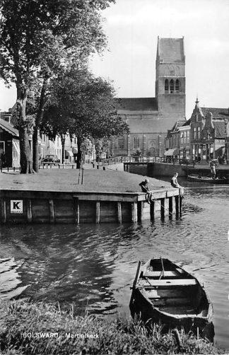 Ansichtkaart Bolsward 1964 Martinikerk HC1859
