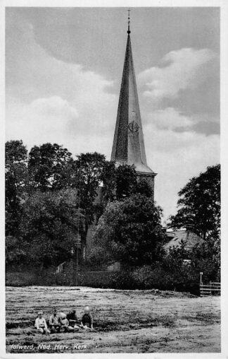 Ansichtkaart Holwerd Ned. Hervormde Kerk HC1865