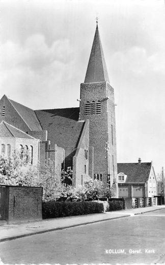 Ansichtkaart Kollum Gereformeerde Kerk 1961 HC1867