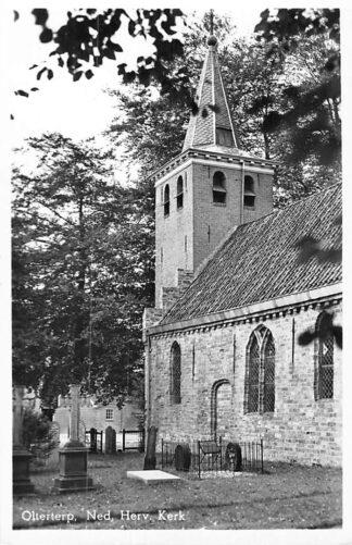 Ansichtkaart Olterterp Ned. hervormde Kerk Begraafplaats 1950 HC1876