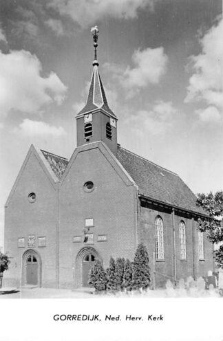 Ansichtkaart Gorredijk 1960 Ned. Hervormde Kerk Begraafplaats HC1879