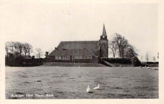 Ansichtkaart Achlum 1955 Ned. Hervormde Kerk HC1880
