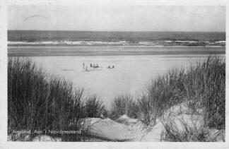 Ansichtkaart Ameland 1949 Aan 't Noordzee strand HC1884
