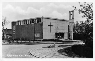 Ansichtkaart Appelscha Gereformeerde Kerk 1957 HC1890