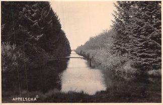 Ansichtkaart Appelscha Fotokaart Kanaal 1945 HC1893