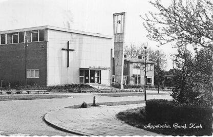 Ansichtkaart Appelscha 1960 Gereformeerde Kerk HC1894