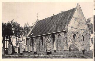 Ansichtkaart Beetsterzwaag Ned. Hervormde Kerk Klokkenstoel Begraafplaats Kortehemmen HC1895