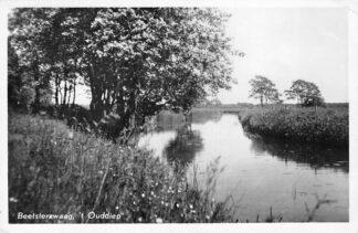 Ansichtkaart Beetsterzwaag 't Ouddiep 1955 HC1896