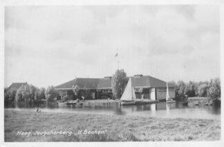 Ansichtkaart Heeg Jeugdherberg It Baeken HC1910