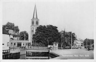 Ansichtkaart Heerenveen Ned. Hervormde Kerk 1946 HC1911