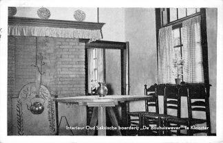 Ansichtkaart 't Klooster Interieur Oud Saksische Boerderij De Bouwhuiskever 1954 Aalten HC1933