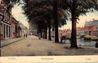 Ansichtkaart Sneek Bothniakade Uitg. Nauta 10488 HC1939