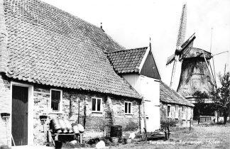 Ansichtkaart Terschelling 1965 Formerum Molen HC1948