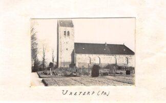 Ansichtkaart Ureterp Fotokaart 5,5 x 8,5 cm op papier Begraafplaats HC1954