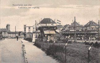 Ansichtkaart Noordwijk aan Zee Tram Station met omgeving HC1962