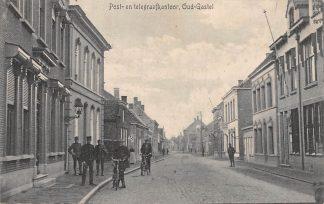 Ansichtkaart Oud Gastel Post- en Telegraafkantoor 1917 Postkantoor HC1980