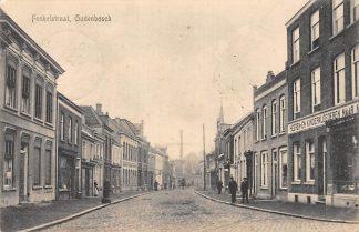 Ansichtkaart Oudenbosch 1915 Fenkelstraat HC1985