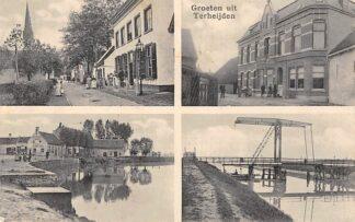 Ansichtkaart Terheijden Groeten uit 1916 Vierluik HC1990