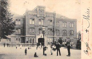 Ansichtkaart Doesburg 1905 Maurits Kazerne met soldaten Militair HC1993