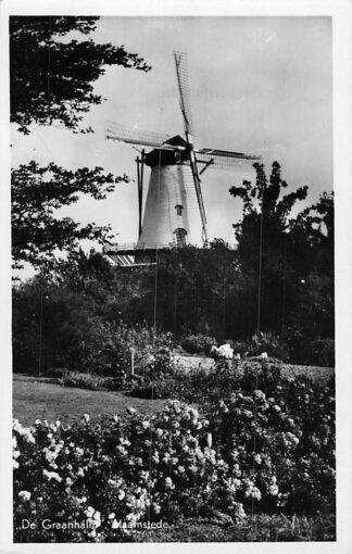 Ansichtkaart Haamstede 1948 Molen Graanhalm HC2009