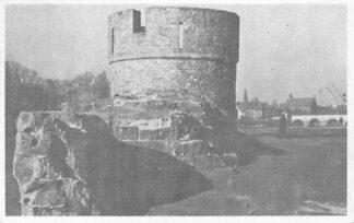 Ansichtkaart Maastricht 1946 Oude Toren langs de Maas HC2042
