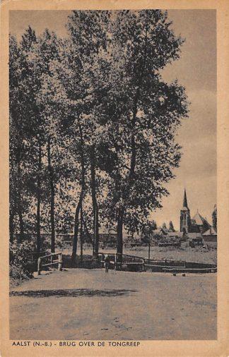 Ansichtkaart Aalst (NB) 1954 Brug over de Tongelreep HC2111