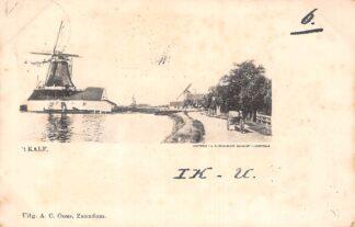 Ansichtkaart Zaandam 1990 't Kalf Molens HC2134