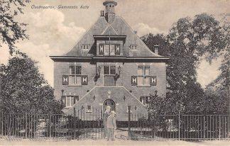 Ansichtkaart Oostvoorne Gemeentehuis HC2135