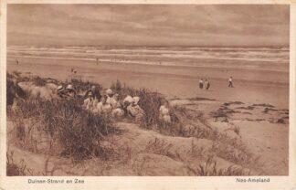 Ansichtkaart Ameland Nes 1933 Duinen Strand en Zee HC2160