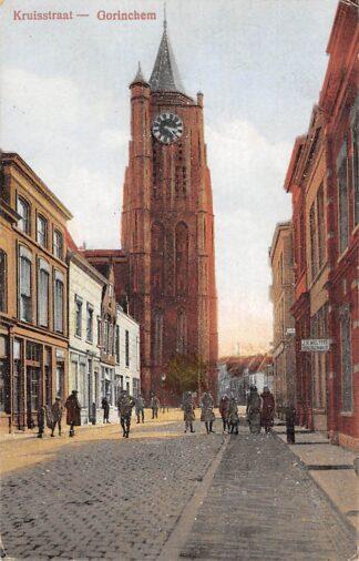 Ansichtkaart Gorinchem Kruisstraat 1924 HC2185