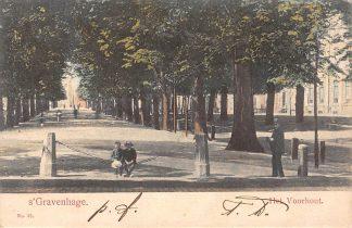 Ansichtkaart 's-Gravenhage 1903 Het Voorhout Den Haag HC2193
