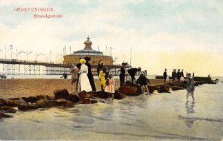 Ansichtkaart Scheveningen Strand gezicht Pier Zee HC2195