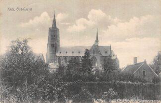Ansichtkaart Oud Gastel Kerk 1916 HC2198