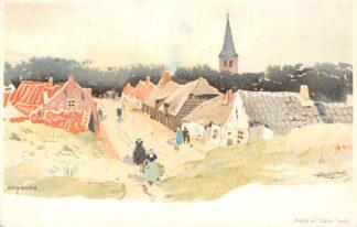 Ansichtkaart Domburg voor 1906 HC2206
