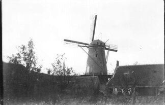 Ansichtkaart Poortvliet Molen Foto van oudere opname HC2209