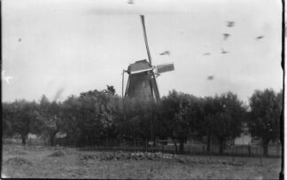 Ansichtkaart Axel Verdwenen molen Foto van oudere opname HC2211