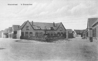 Ansichtkaart 's-Gravendeel Nieuwstraat Hoeksche Waard HC2214