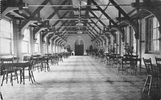 Ansichtkaart Noordwijkerhout 1918 Retraitehuis St. Clemens Veranda HC2218