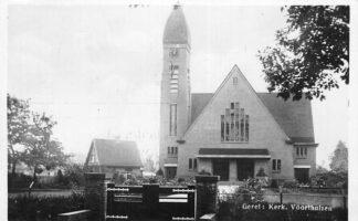 Ansichtkaart Voorthuizen Gereformeerde Kerk 1934 HC2221