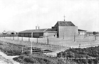 Ansichtkaart Cadzand Toeristen kerk Heilige Bonifatius 1966 HC2223