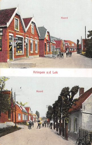 Ansichtkaart Krimpen aan de Lek Noord 1930 HC2249