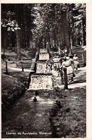 Ansichtkaart Loenen (GD) bij Apeldoorn Waterval 1951 HC2255