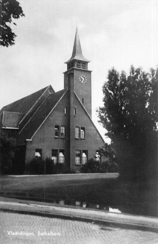 Ansichtkaart Vlaardingen Bethel kerk 1955 HC2283