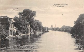 Ansichtkaart Alphen aan den Rijn Rijngezicht met Watertoren 1923 HC2300