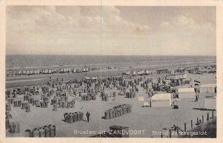 Ansichtkaart Zandvoort Groeten uit Strand en Zee gezicht HC2312